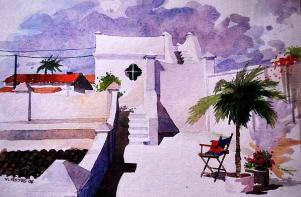 Cartagena Painting - Cartagena Bolivar Cities Of The Carribean Region by V  Reyes