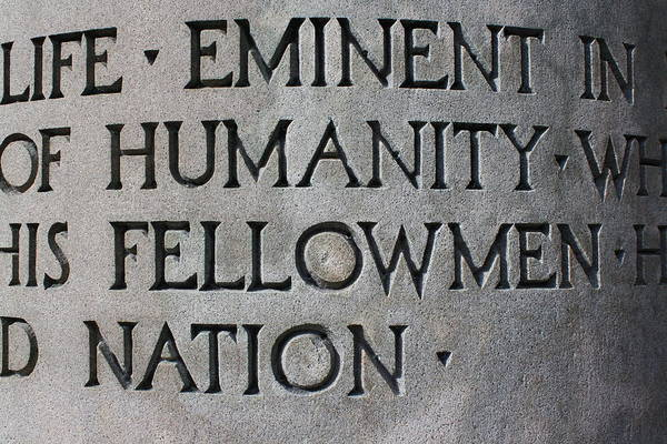 Humanity Digital Art - Carved Letters by Geoff Strehlow