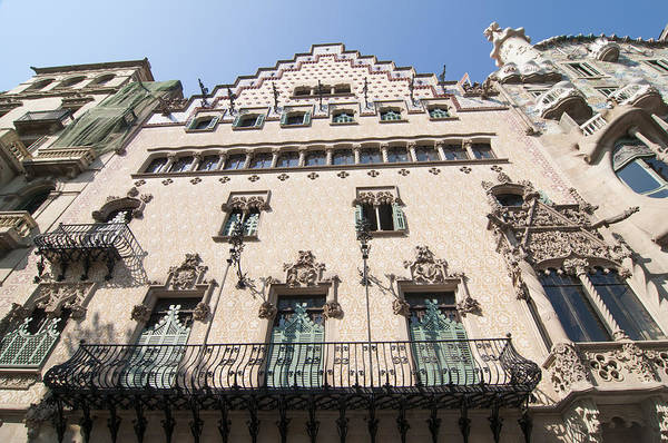 Photograph - Casa Amatller Building Barcelona by Matthias Hauser
