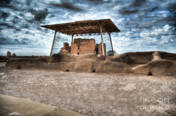 Photograph - Casa Grande Ruins I by Donna Greene