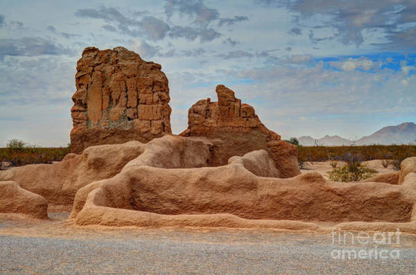 Photograph - Casa Grande Ruins Iv by Donna Greene