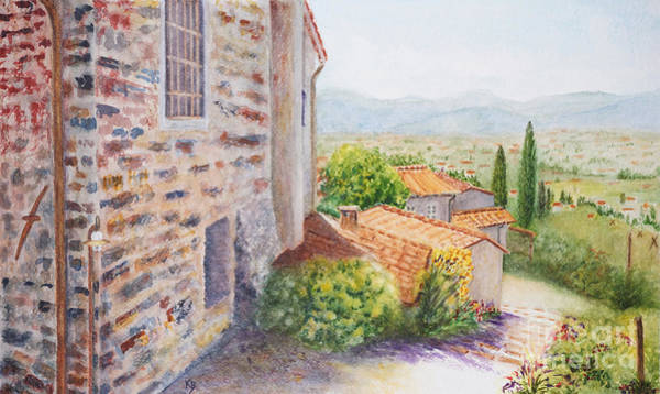 Painting - Casale by Karen Fleschler