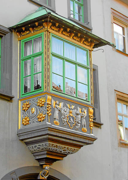 Photograph - Casement Window Into Weimar's Past by Christine Till