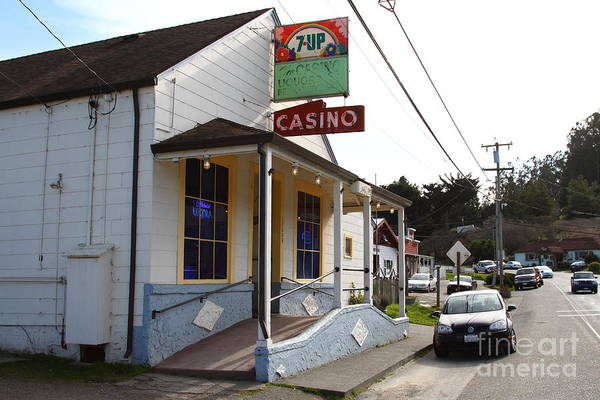 Photograph - Casino Bar And Grill . Bodega Bay . Town Of Bodega . California . 7d12443 by Wingsdomain Art and Photography