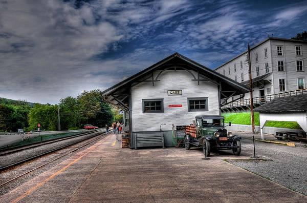 Cass Wall Art - Photograph - Cass Train Depot by Todd Hostetter