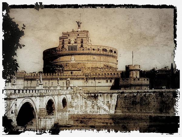 Photograph - Castel Sant' Angelo Rome by Julie Palencia