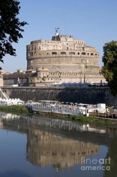 Wall Art - Photograph - Castel Sant'angelo Castle. Rome by Bernard Jaubert
