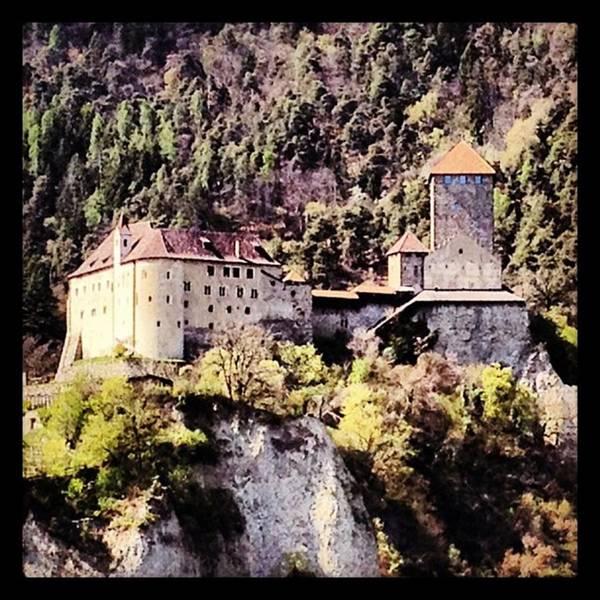 Fantasy Photograph - Castel Tirolo... Domina Merano E Tutta by Luisa Azzolini