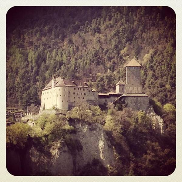 Fantasy Wall Art - Photograph - Castel Tirolo by Luisa Azzolini