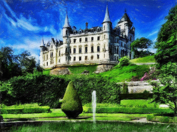 Painting - Castle Garden by Dean Wittle