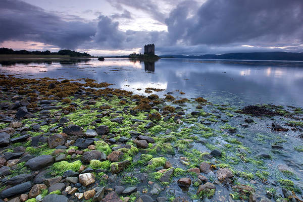 Wall Art - Photograph - Castle Stalker by Guido Tramontano Guerritore