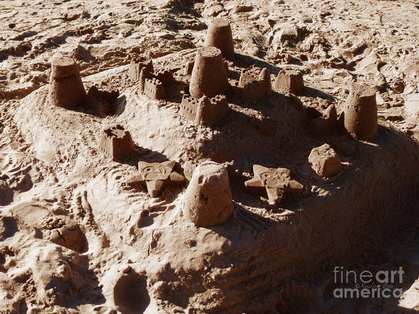 Photograph - Castles Made Of Sand by Xueling Zou
