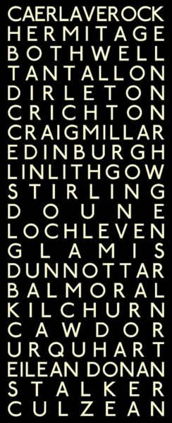 Eilean Donan Castle Digital Art - Castles Of Scotland by Chris Brown