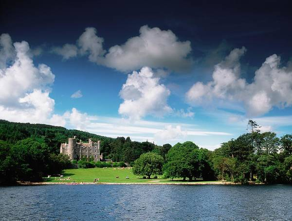 Horizontally Photograph - Castlewellan Castle & Lake, Co Down by The Irish Image Collection