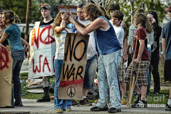 Photograph - Casualties Of Peace by Terry Doyle
