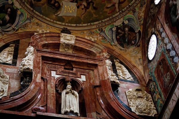 Photograph - Cathedral Ceiling Detail by Lorraine Devon Wilke