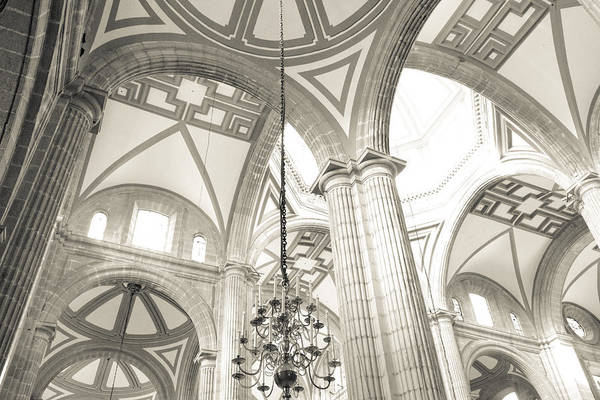 Wall Art - Photograph - Cathedral Metropolitan Cream by John Bartosik