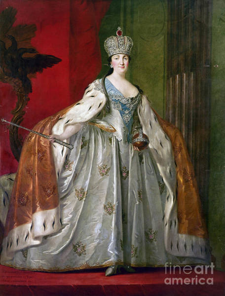 Photograph - Catherine II Of Russia by Granger
