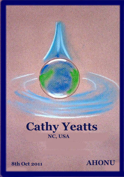Painting - Cathy Yeatts by Ahonu