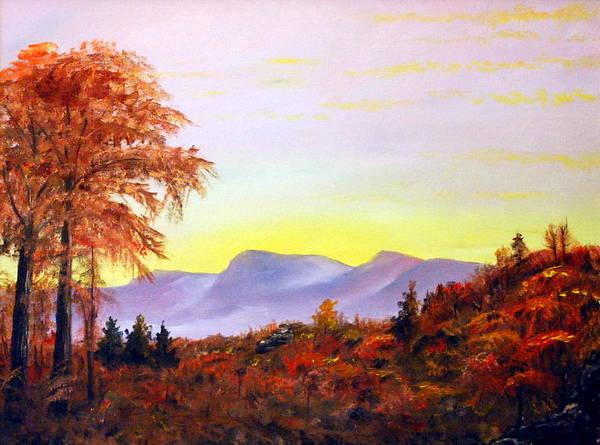 Painting - Catskills by Phil Burton