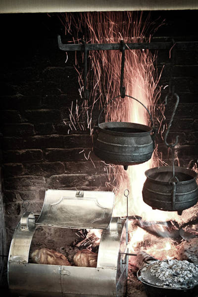 Photograph - Cauldrons On The Fire by Emanuel Tanjala