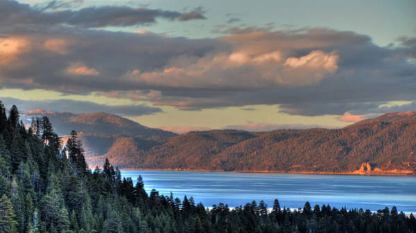Emerald Bay Photograph - Cave Rock Lake Tahoe by Brad Scott