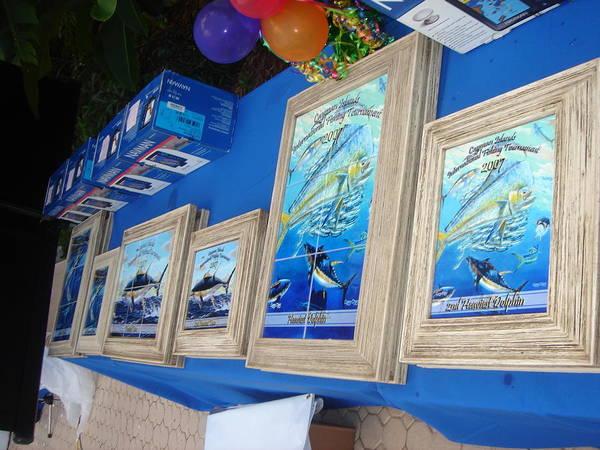 Chen Digital Art - Cayman Islands Trophies by Carey Chen