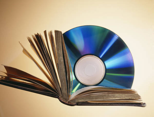 Roms Photograph - Cd-rom And Book by Veronique Leplat