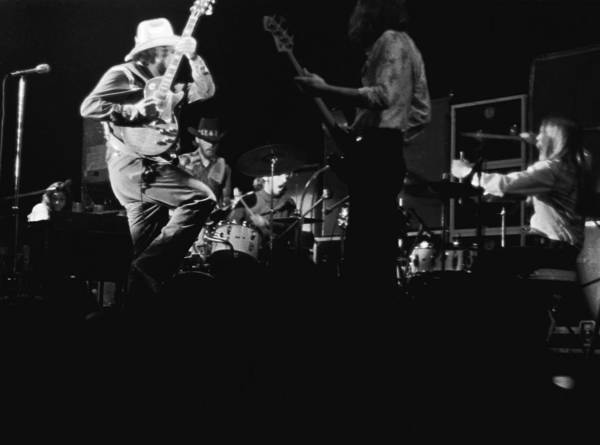 Photograph - Cdb At Winterland In April 1975 by Ben Upham