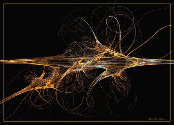Digital Art - Celebration Of Impulses - Abstract Art by Sipo Liimatainen