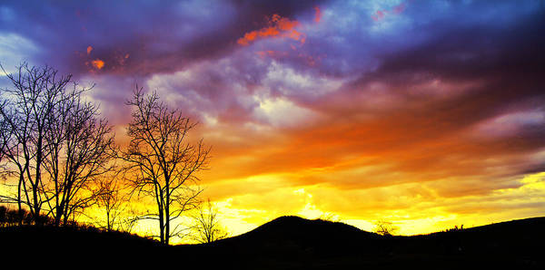 Sun Set Photograph - Celebration Of Night by Betsy Knapp