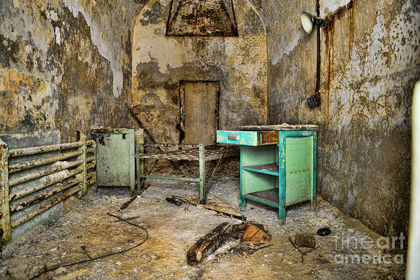 Crumble Photograph - Cell Block 5 by Paul Ward