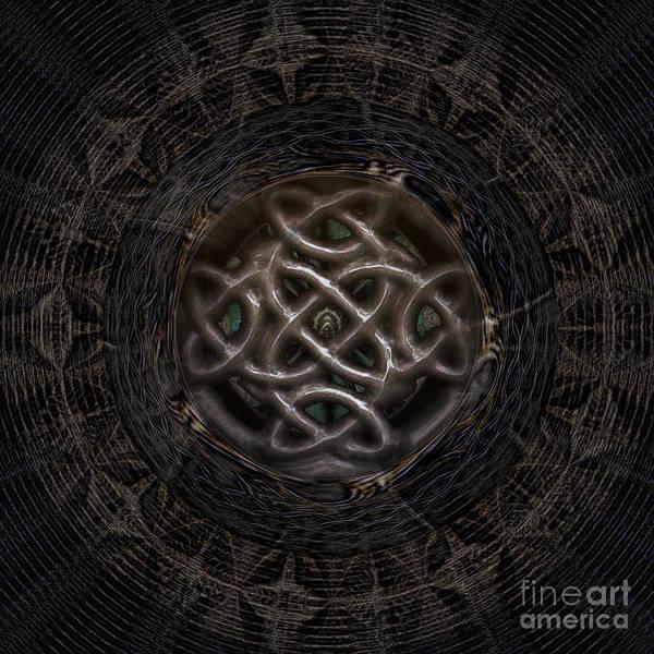 Wall Art - Digital Art - Celtic Shutter by Jan Willem Van Swigchem