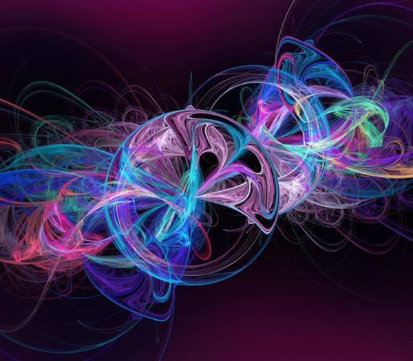 Energy Digital Art - Center Of Energy by Ricky Barnard
