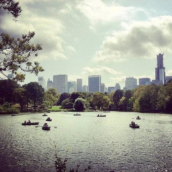 Wall Art - Photograph - Central Park Was A Beautiful Place! #nyc by Jen Hernandez