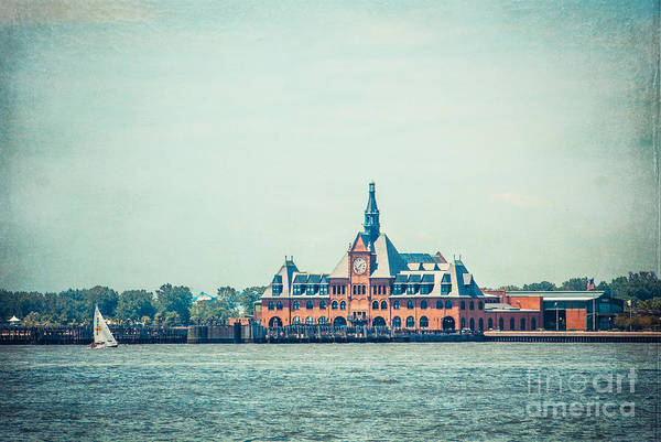 Photograph - Central Railroad Terminal Of New Jersey by Hannes Cmarits