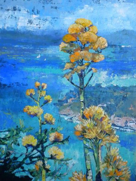 Caribbean Wall Art - Painting - Century Plant by Jan Farara