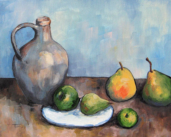 Wall Art - Painting - Cezanne's Jug by Torrie Smiley