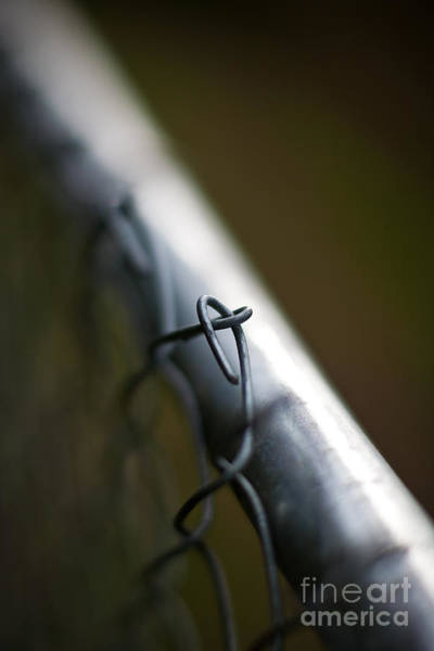 Boundaries Wall Art - Photograph - Chain Link by Mike Reid
