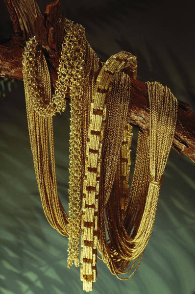 Senora Photograph - Chains From A Spanish Shipwreck by Sisse Brimberg