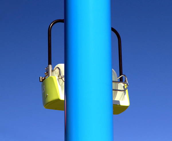 Ropeway Photograph - Chairlift Cart by Valentino Visentini
