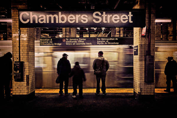 Digital Art - Chambers Street Station by Chris Lord