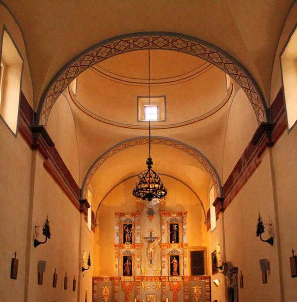 Photograph - Chapel At San Jose Mission II by Sarah Broadmeadow-Thomas