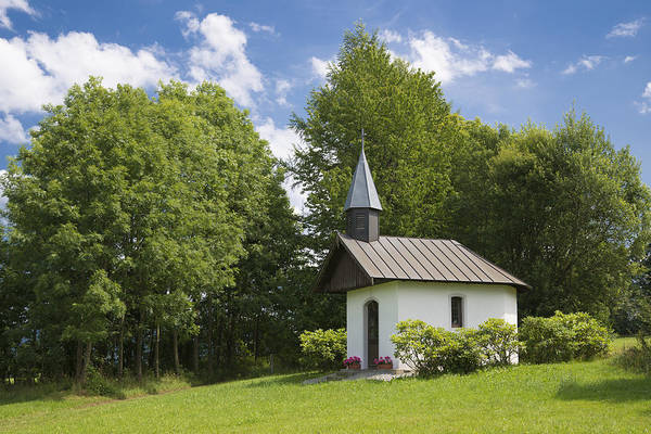 Photograph - Chapel In Bavaria Germany by Matthias Hauser