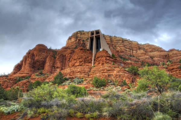 Red Rocks Of Sedona Photograph - Chapel Of The Holy Cross  by Saija  Lehtonen
