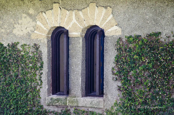 Photograph - Chapel Windows by Mike Fitzgerald