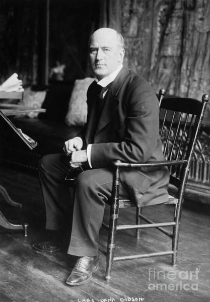 Photograph - Charles Gibson (1867-1944) by Granger