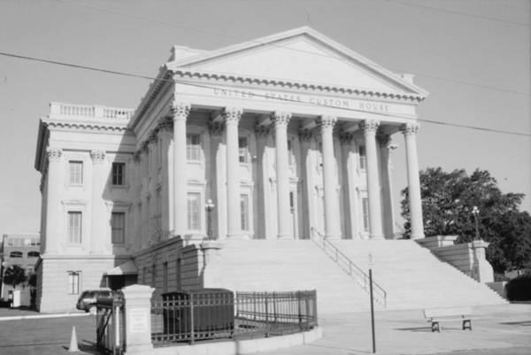 Photograph - Charleston Customs House II by Emery Graham
