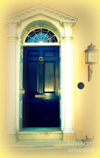 Photograph - Charleston Door 2 by Susanne Van Hulst