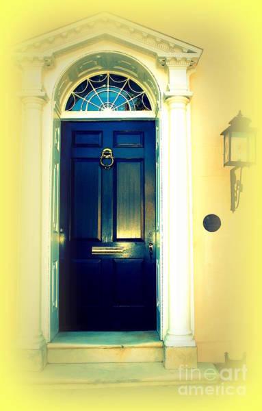 Photograph - Charleston Door 4 by Susanne Van Hulst